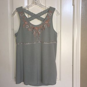 KNOX ROSE sleeveless blouse beautiful